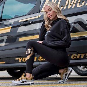 $20💋New Small W/Tags Nike Metallic GX Leggings